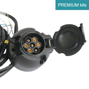 Sähkösarja, Sähkösarjan asennus, 7-Napainen, Wiring Kit, Premium, Mallikohtainen